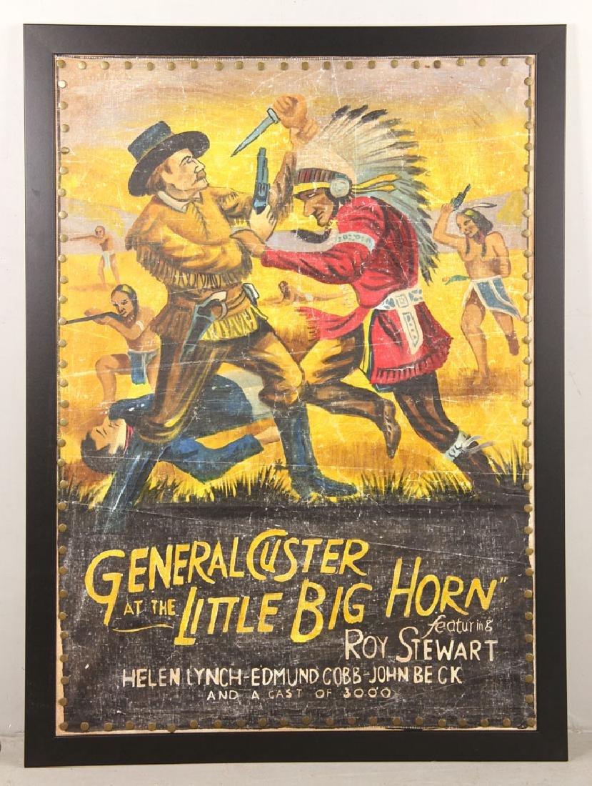 """General Custer at Little Bighorn,"" Vintage Movie"