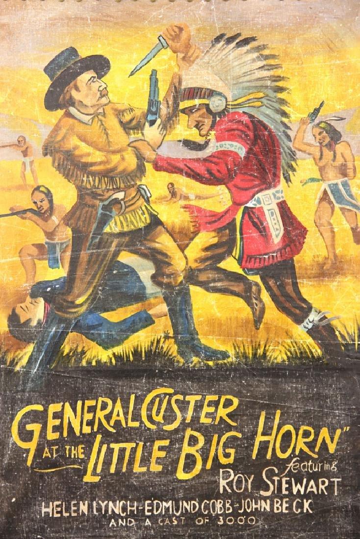 """General Custer at Little Bighorn,"" Vintage Movie - 2"