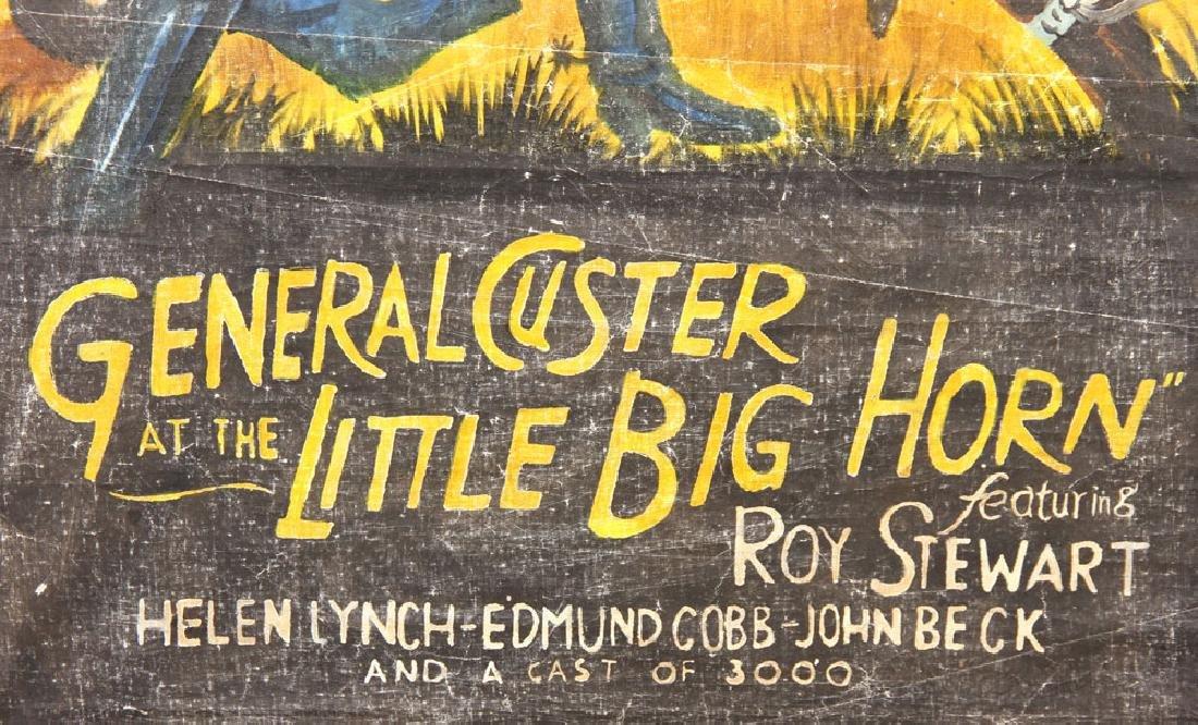 """General Custer at Little Bighorn,"" Vintage Movie - 6"