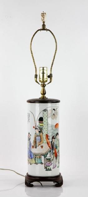 Chinese Republic Period Famille Verte Vase