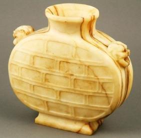 Chinese Carved Sandstone Vase