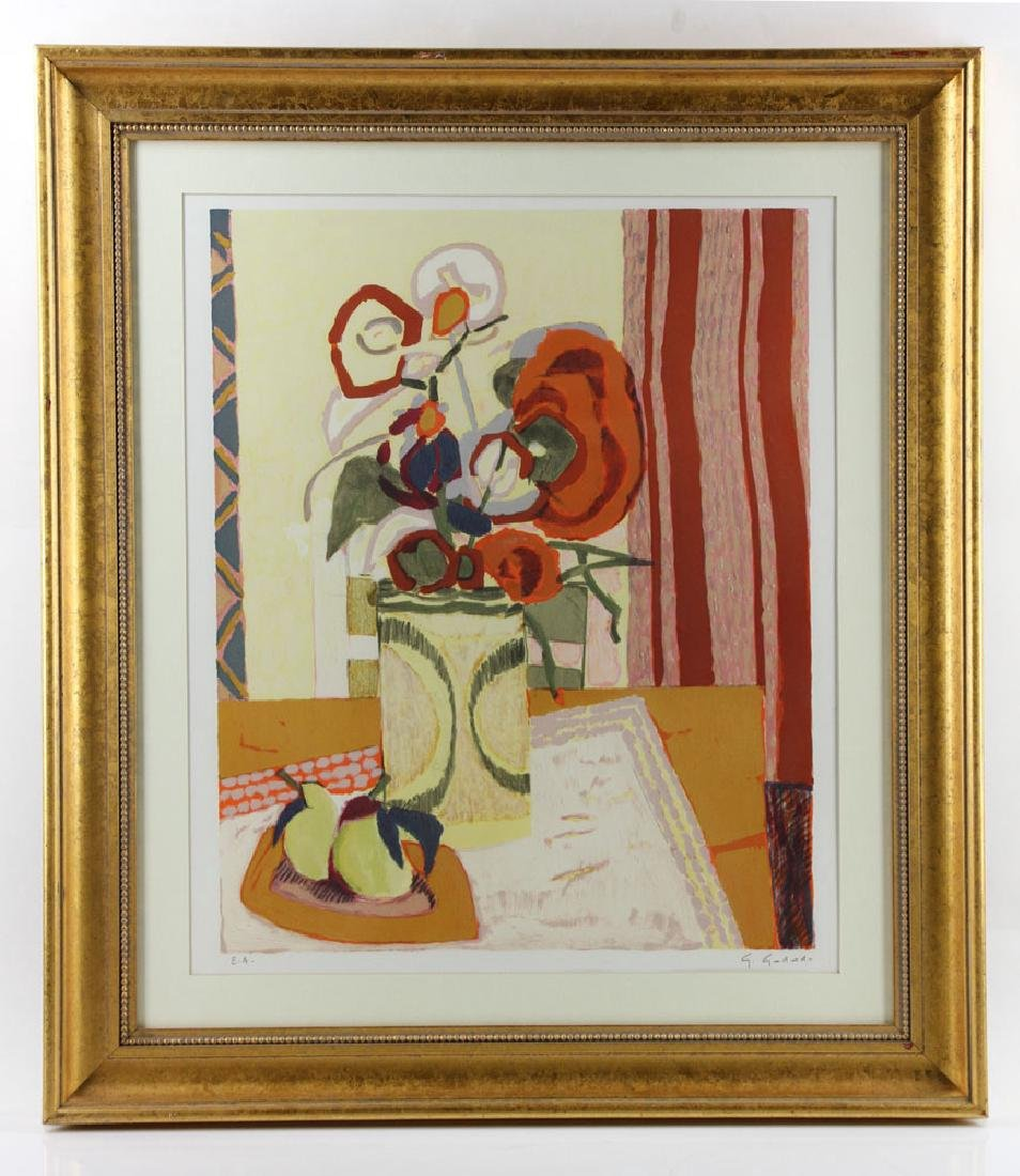 Godard, Still Life, Lithograph