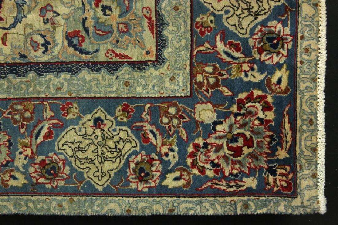 Semi Antique Persian Isfahan Carpet - 3