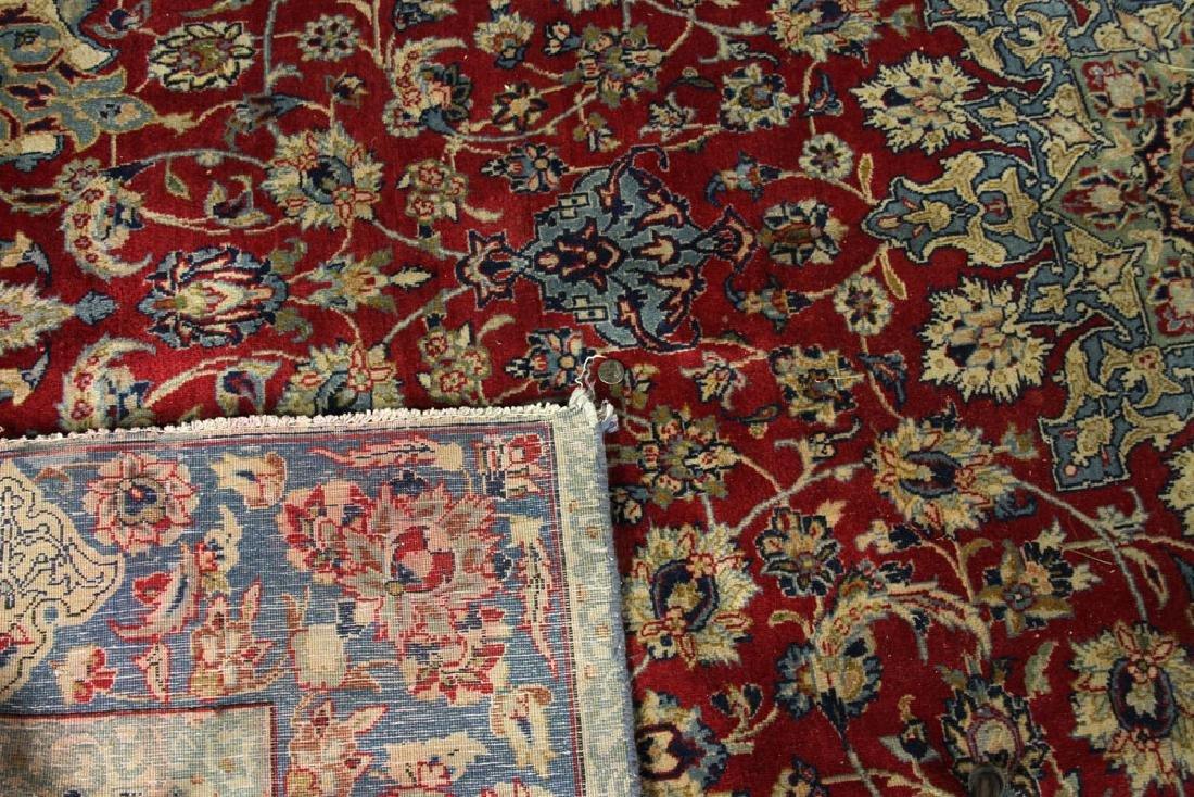 Semi Antique Persian Isfahan Carpet - 4