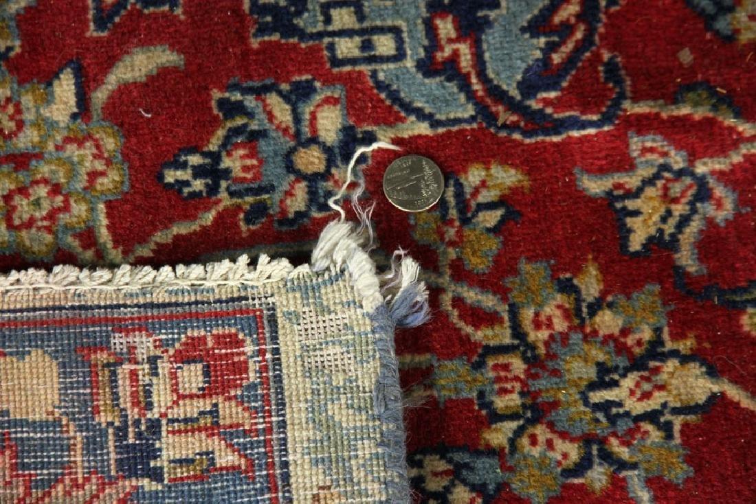 Semi Antique Persian Isfahan Carpet - 5