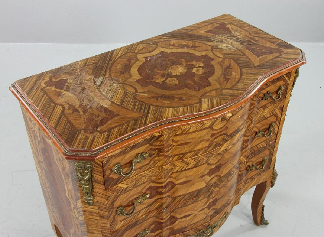 French Inlaid Chest - 5