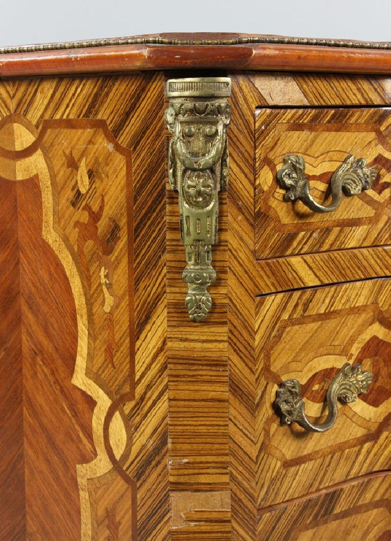 French Inlaid Chest - 7