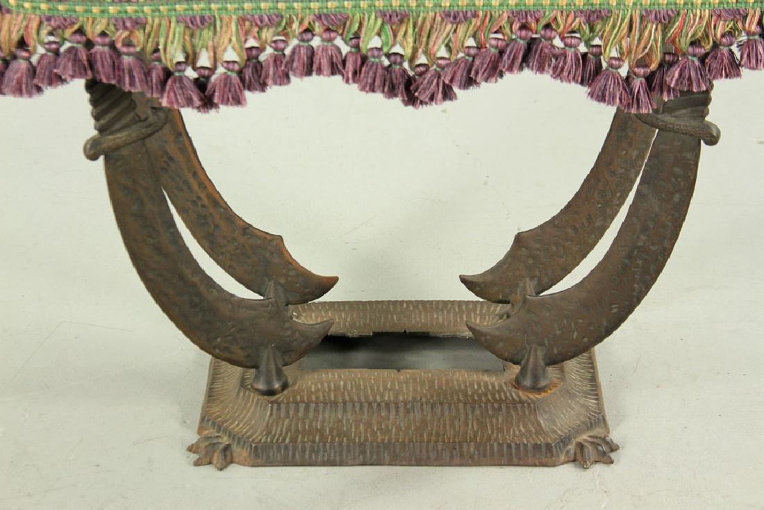 Persian Motif Stool and Ashtray - 3