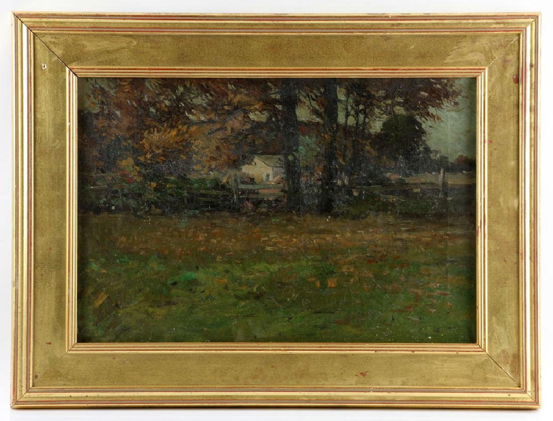 American School, Forest Landscape, Oil on Canvas