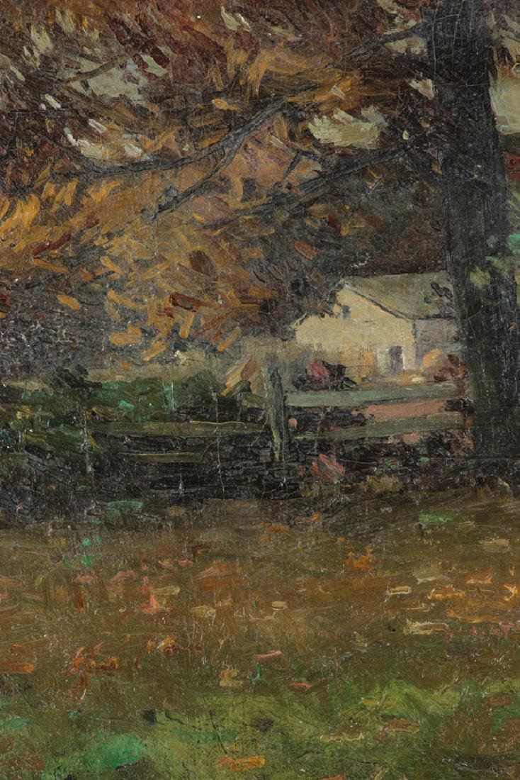 American School, Forest Landscape, Oil on Canvas - 7