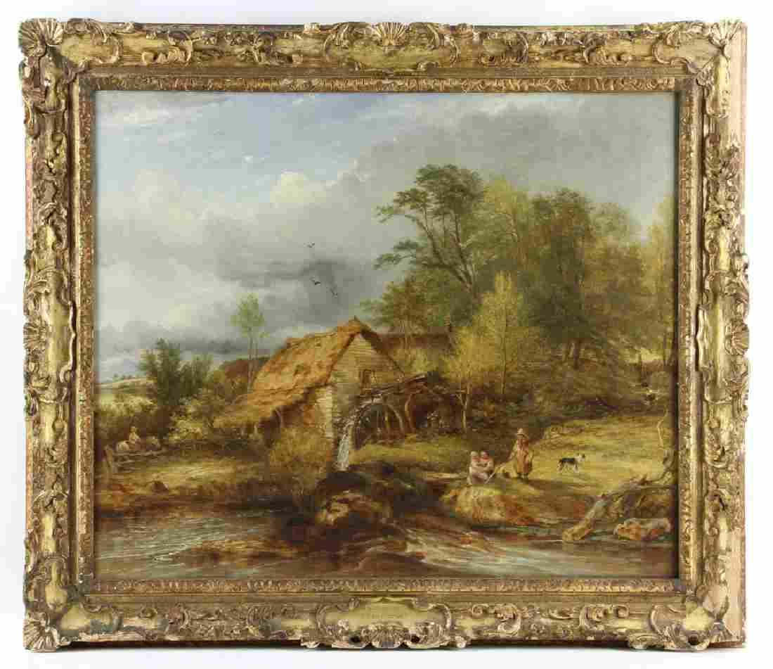 Willcocks, Devonshire Scene, Oil on Canvas