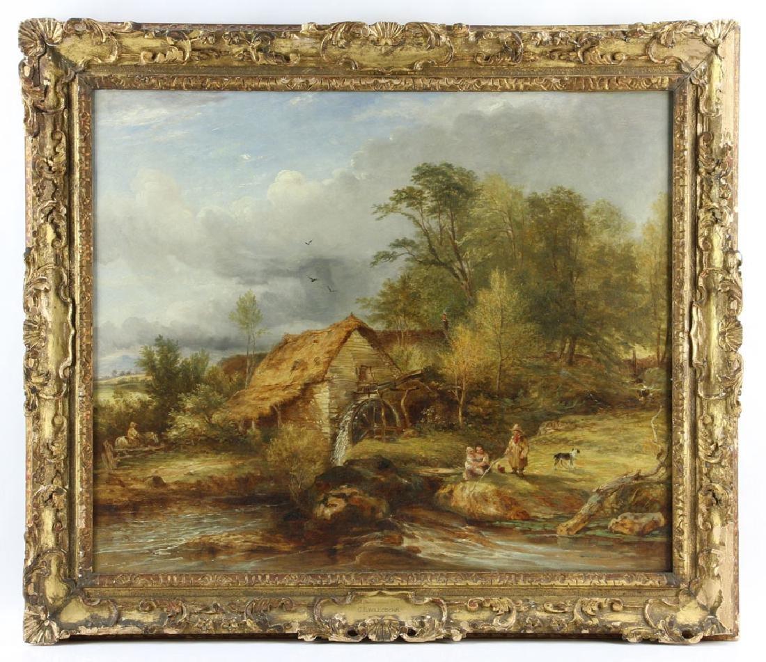 Willcocks, Devonshire Scene, Oil on Canvas