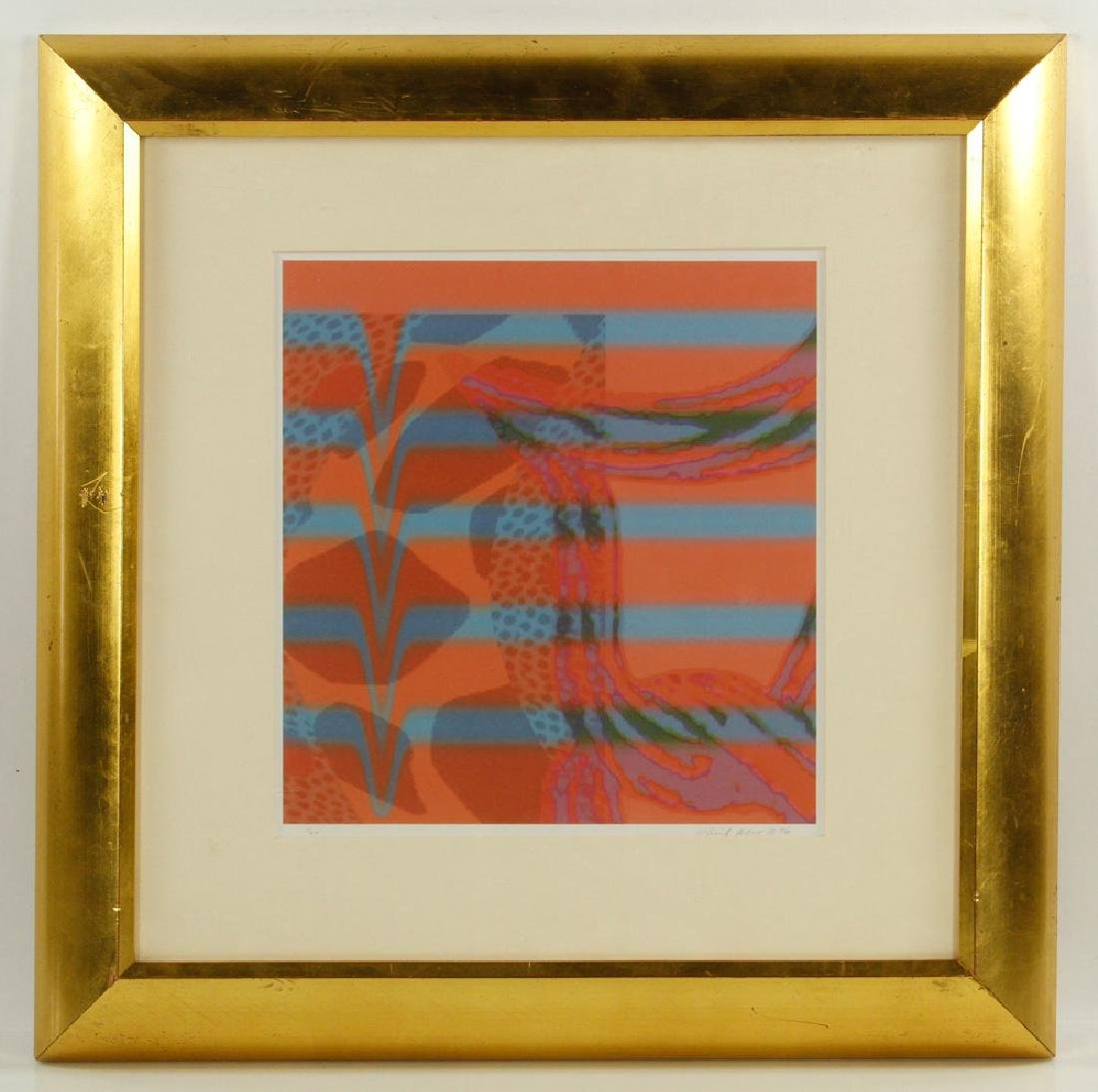Aho, Abstract, Lithograph