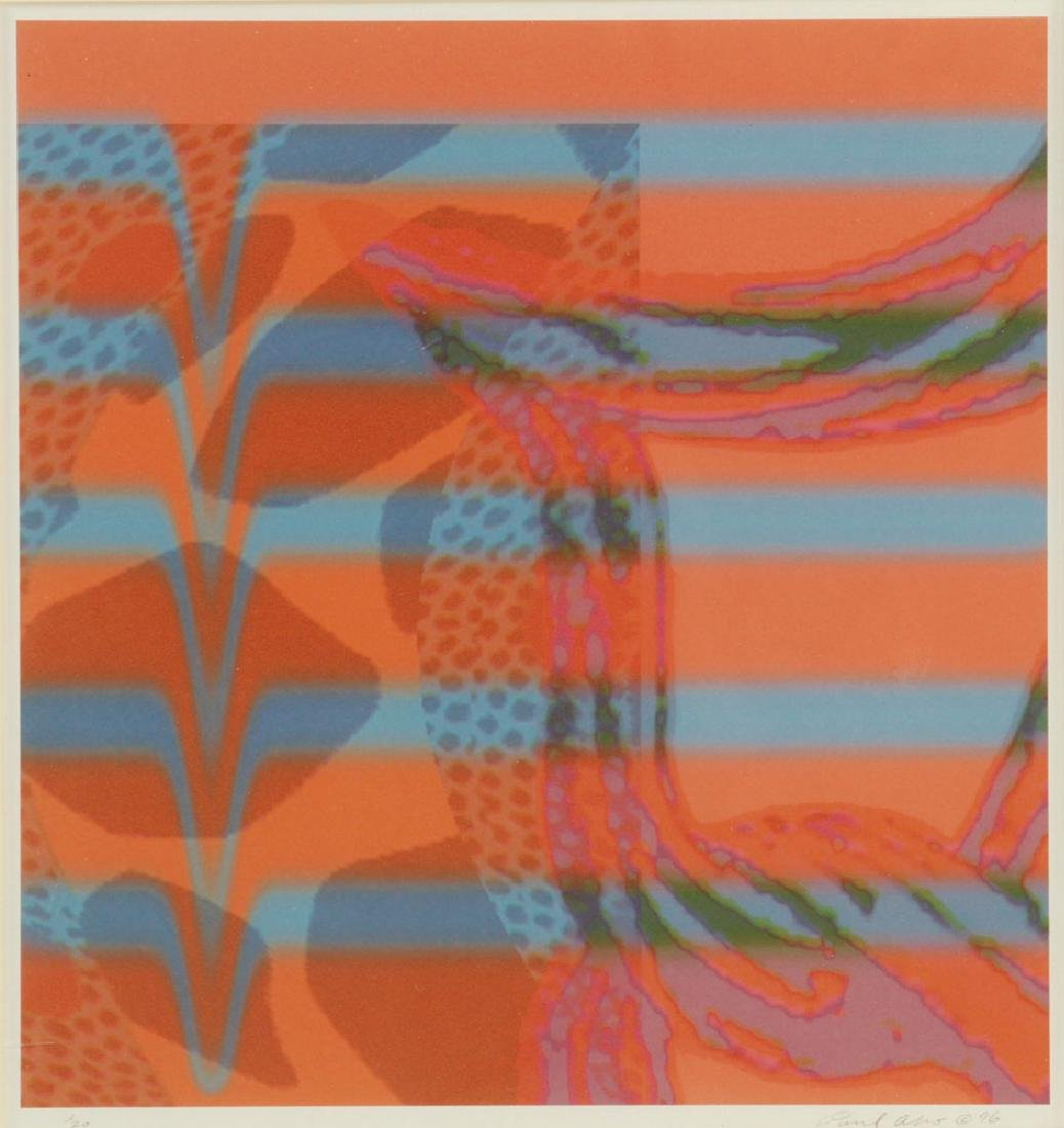 Aho, Abstract, Lithograph - 2
