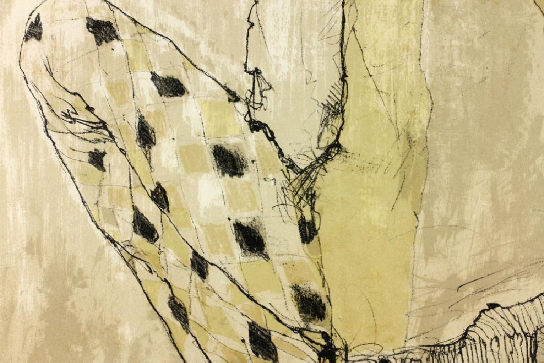 Jamsem, Lady in Harlequin Slacks, Lithograph - 7