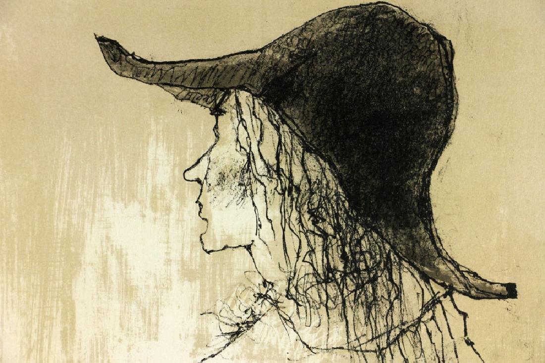 Jamsem, Lady in Harlequin Slacks, Lithograph - 8