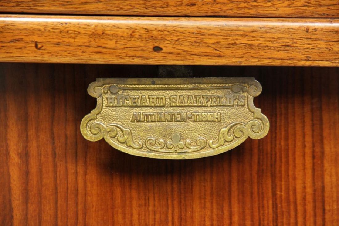 19th C. Vienna Austrian Secessionist Inlaid Table - 5
