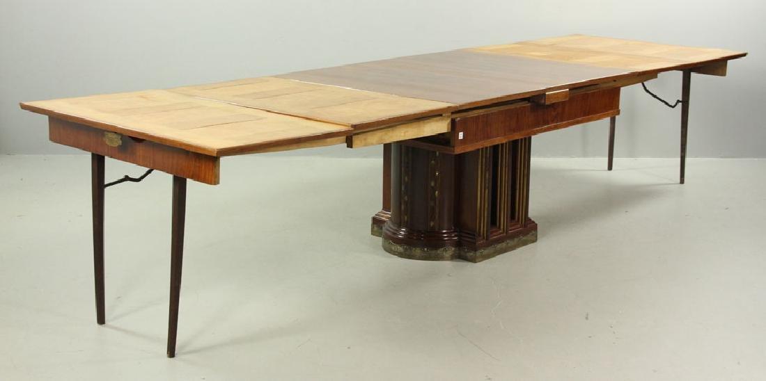 19th C. Vienna Austrian Secessionist Inlaid Table - 7