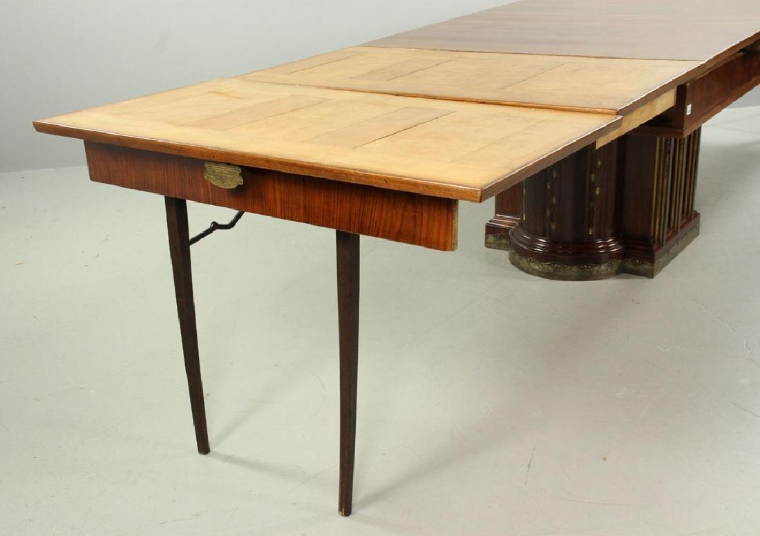 19th C. Vienna Austrian Secessionist Inlaid Table - 8