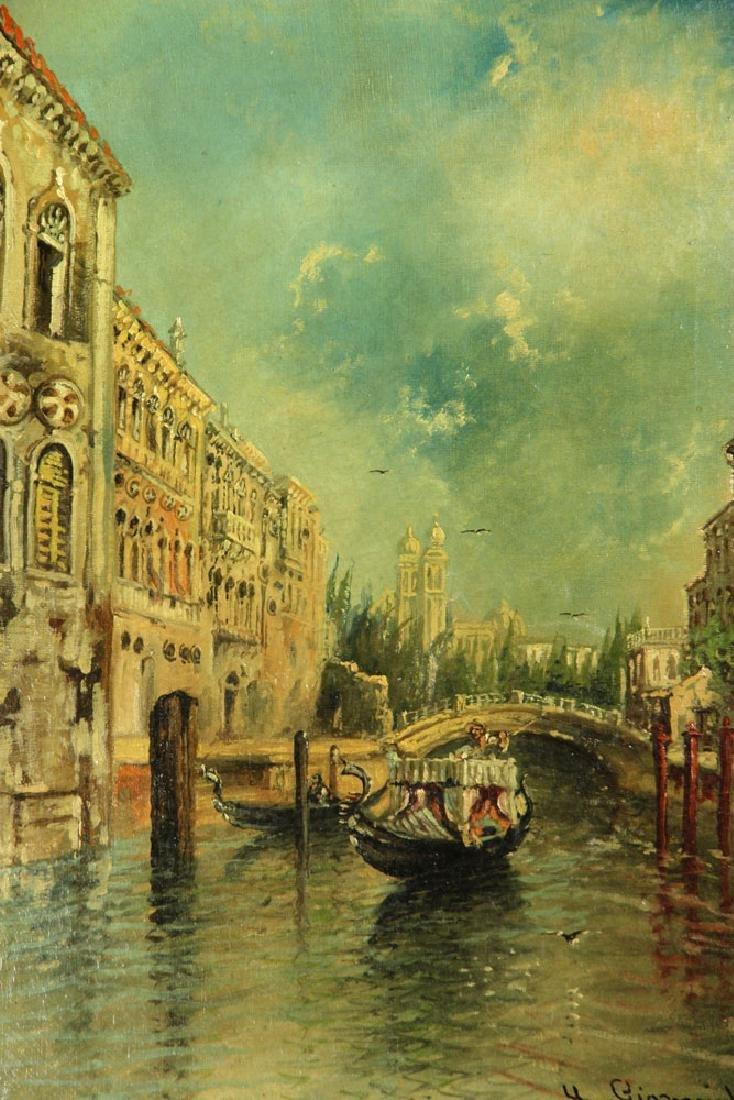 Gianni, Venetian Scene, Oil on Canvas - 2