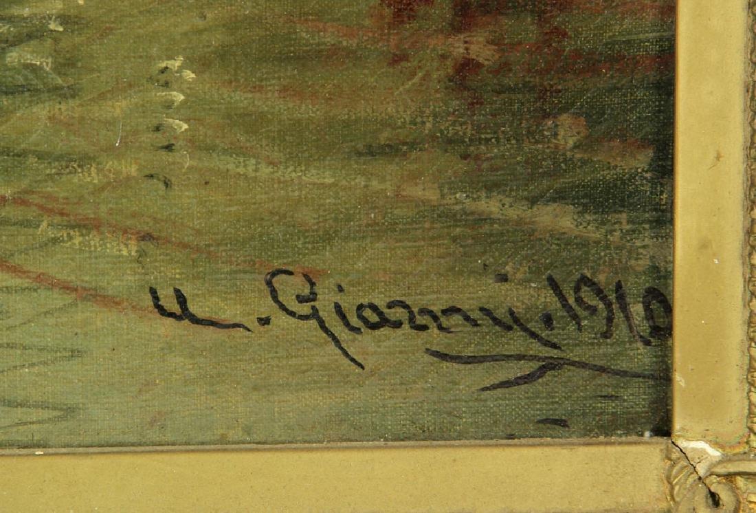 Gianni, Venetian Scene, Oil on Canvas - 3