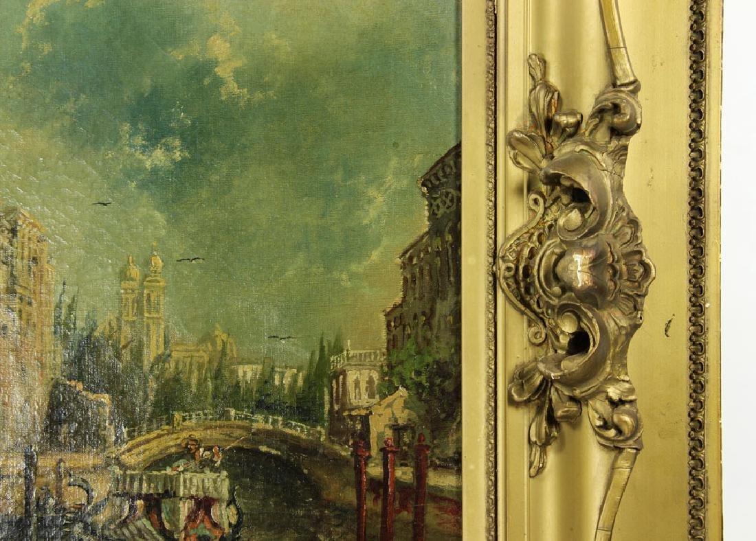 Gianni, Venetian Scene, Oil on Canvas - 4