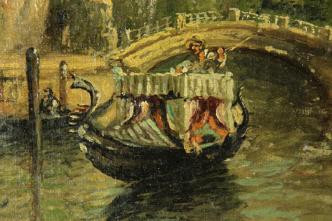 Gianni, Venetian Scene, Oil on Canvas - 6