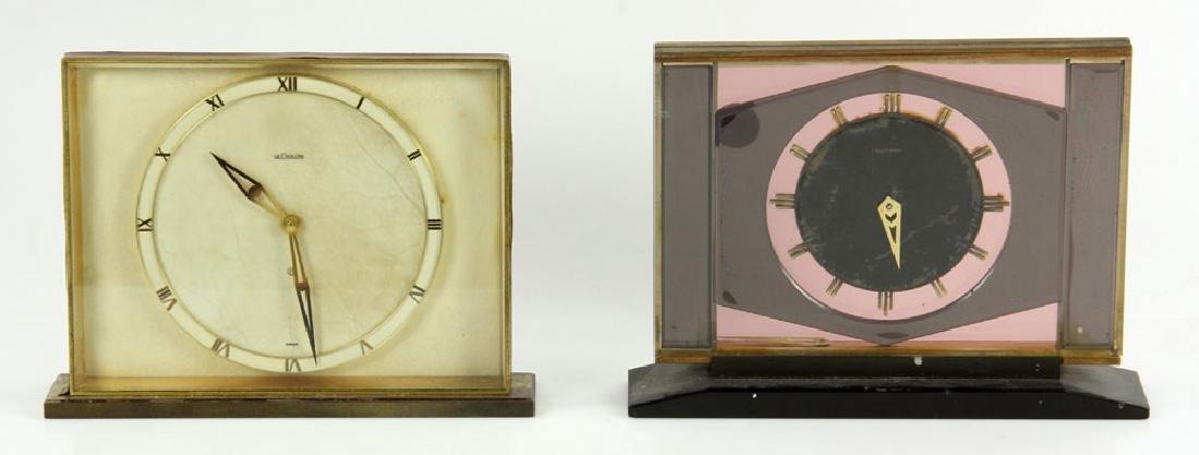 2 Dresser Clocks