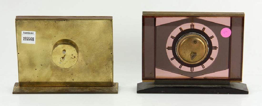 2 Dresser Clocks - 2