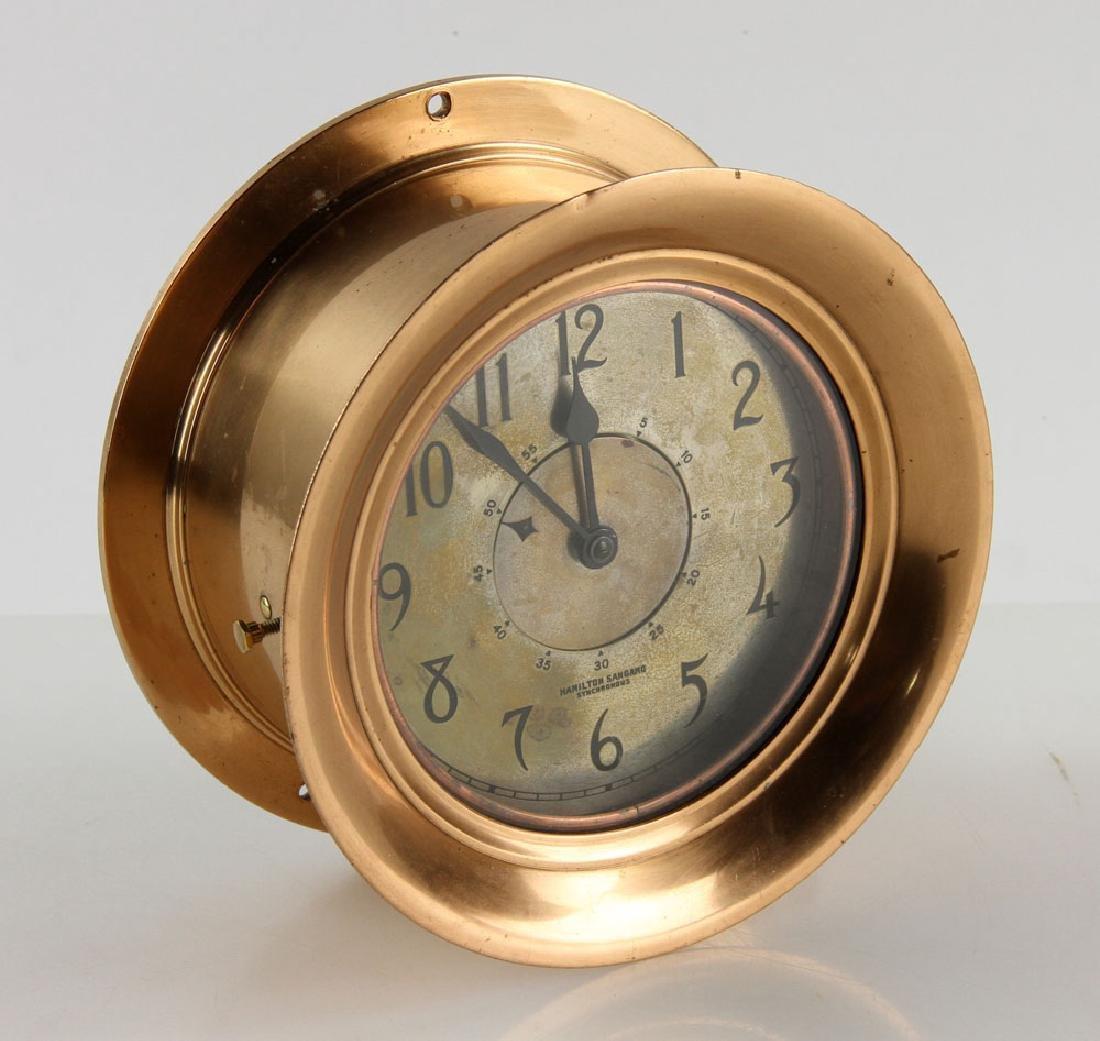 Hamilton Sangamo Synchronous Ship's Clock