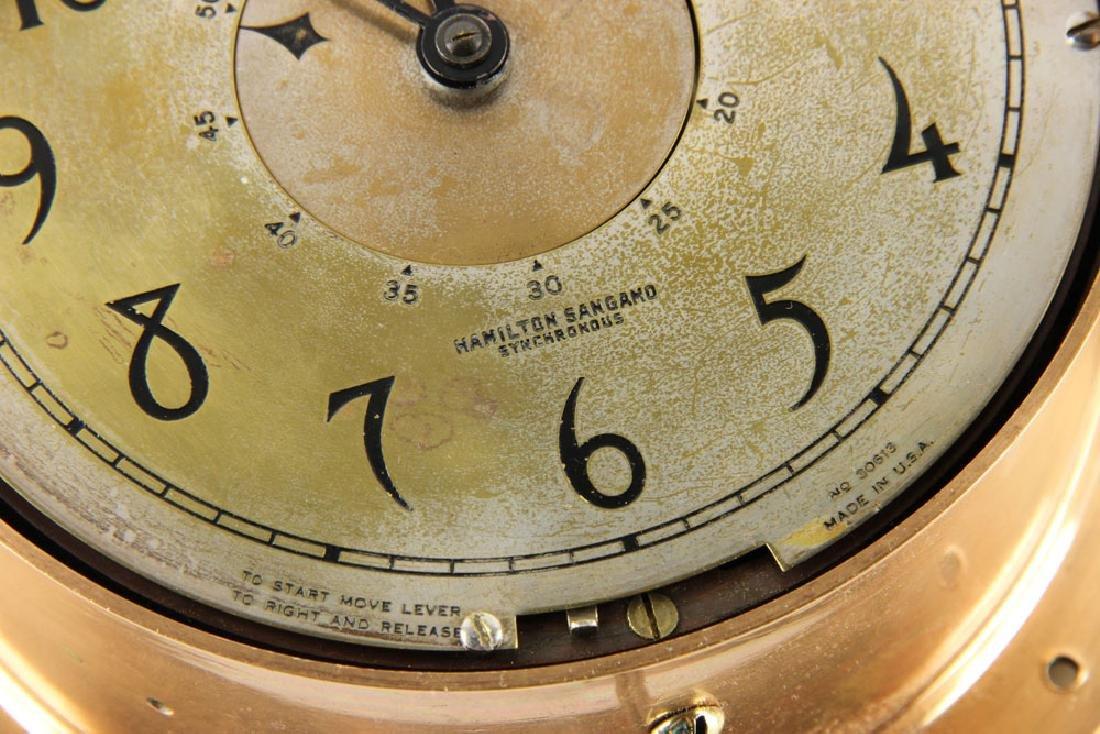 Hamilton Sangamo Synchronous Ship's Clock - 5