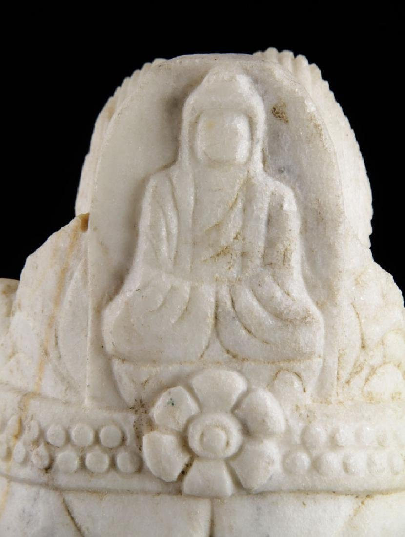 Chinese Marble Sculpture of Guanyin - 4