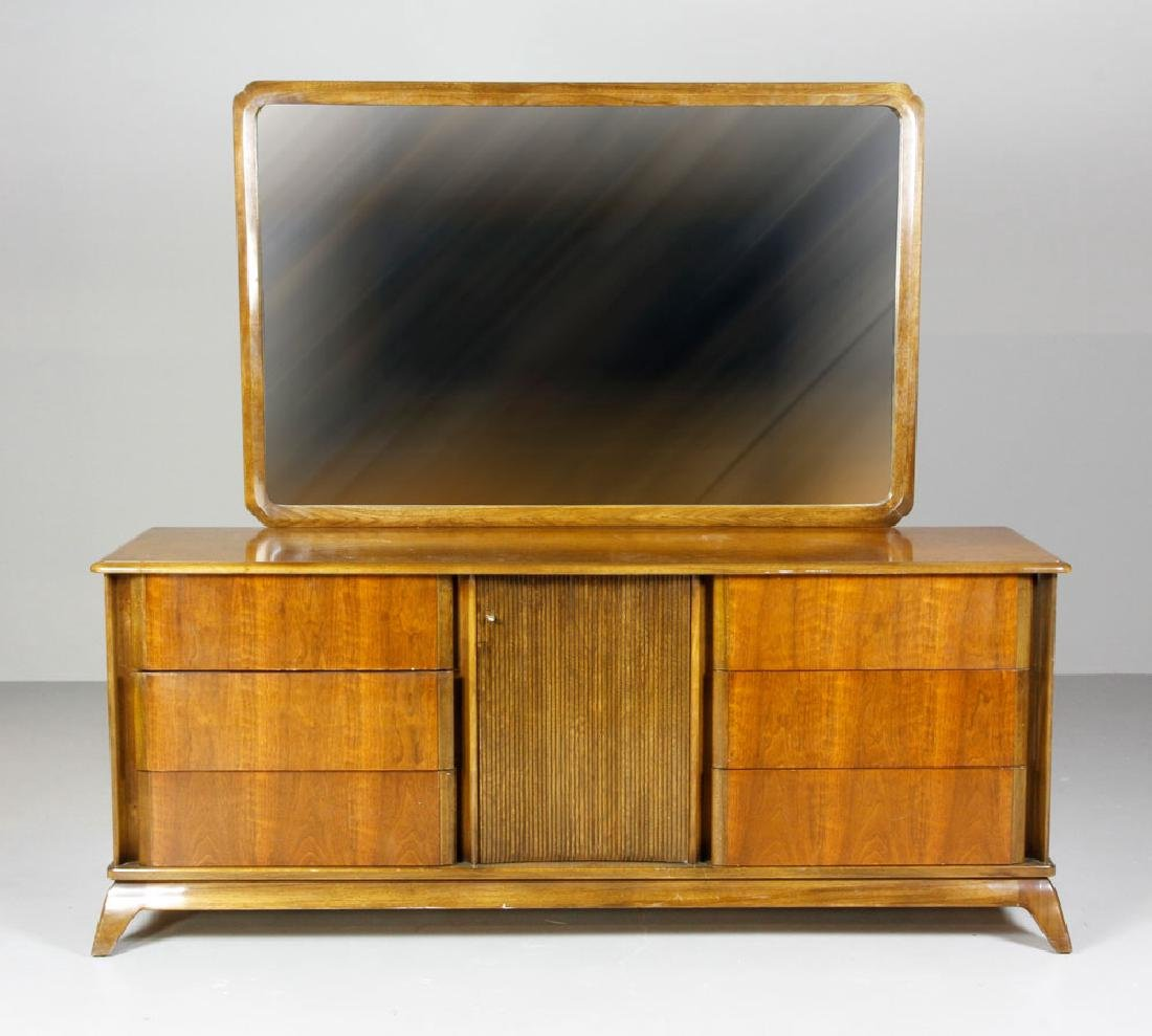 Mid Century Sieling Furniture Co. Dresser and Vanity