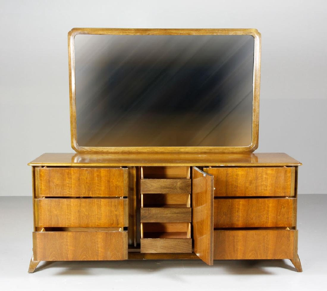 Mid Century Sieling Furniture Co. Dresser and Vanity - 2