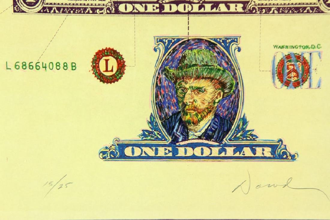 "Dowd, ""The Vincent Dollar,"" Lithograph - 3"