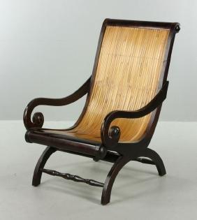 English Style Mahogany Armchair