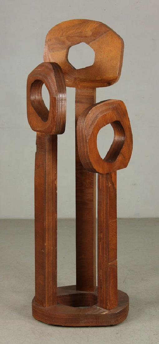 Lee, Modernist Trees, Wood Sculpture