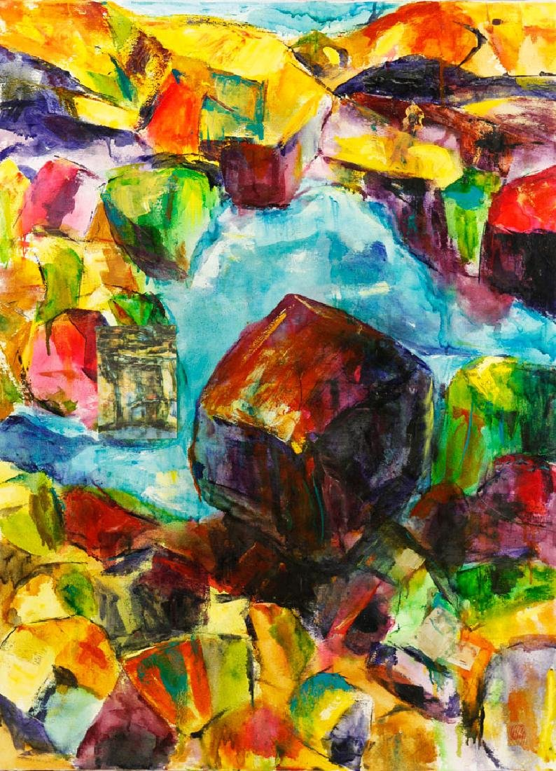 """Glen, """"Erma: Her Place,"""" Oil on Canvas - 2"""