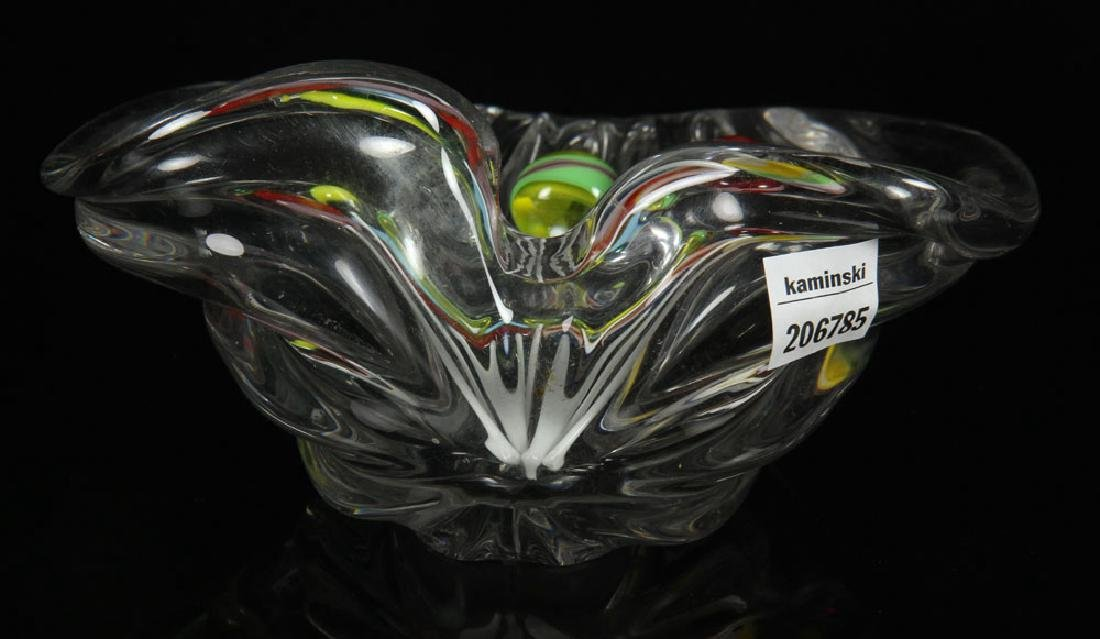 Crystal Candy Dish with Glass Lollipops - 3