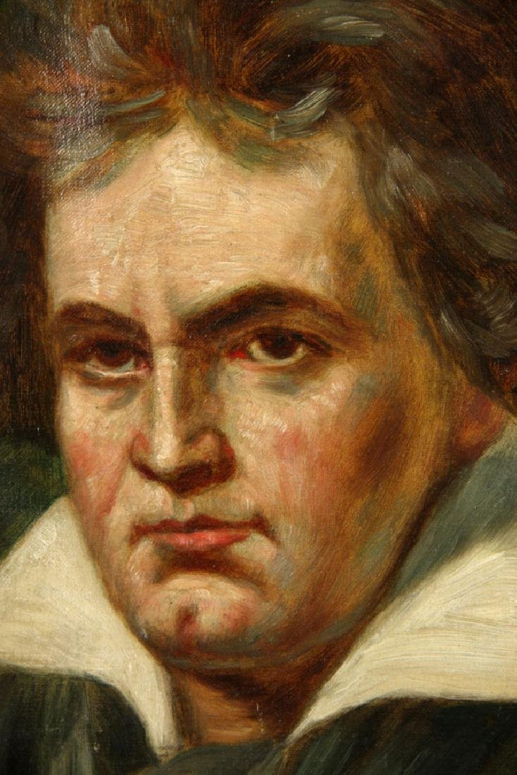 Kurz, Portrait of Beethoven, Oil on Canvas - 3