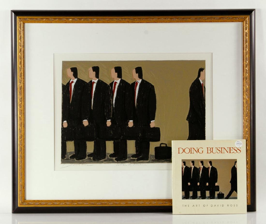 """Ross, """"Change of Direction,"""" Print"""