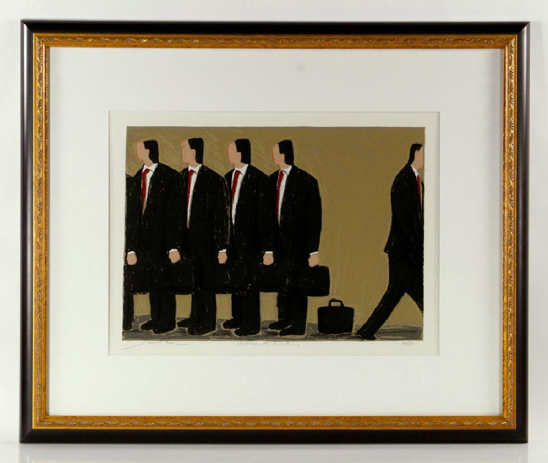 """Ross, """"Change of Direction,"""" Print - 2"""