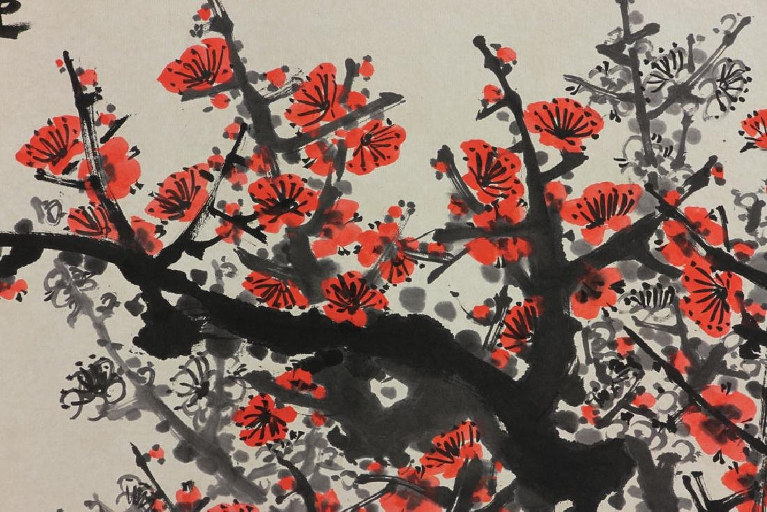Chinese Watercolor Painting on Paper - 3