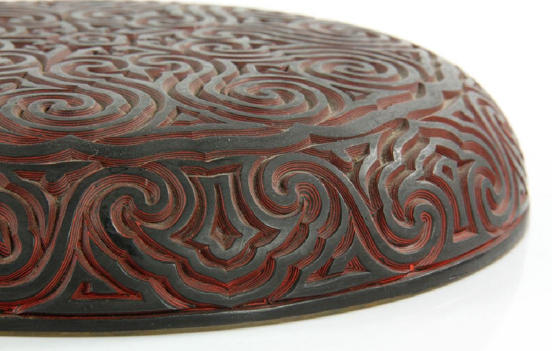 Chinese Lacquered Tixi Covered Box - 8