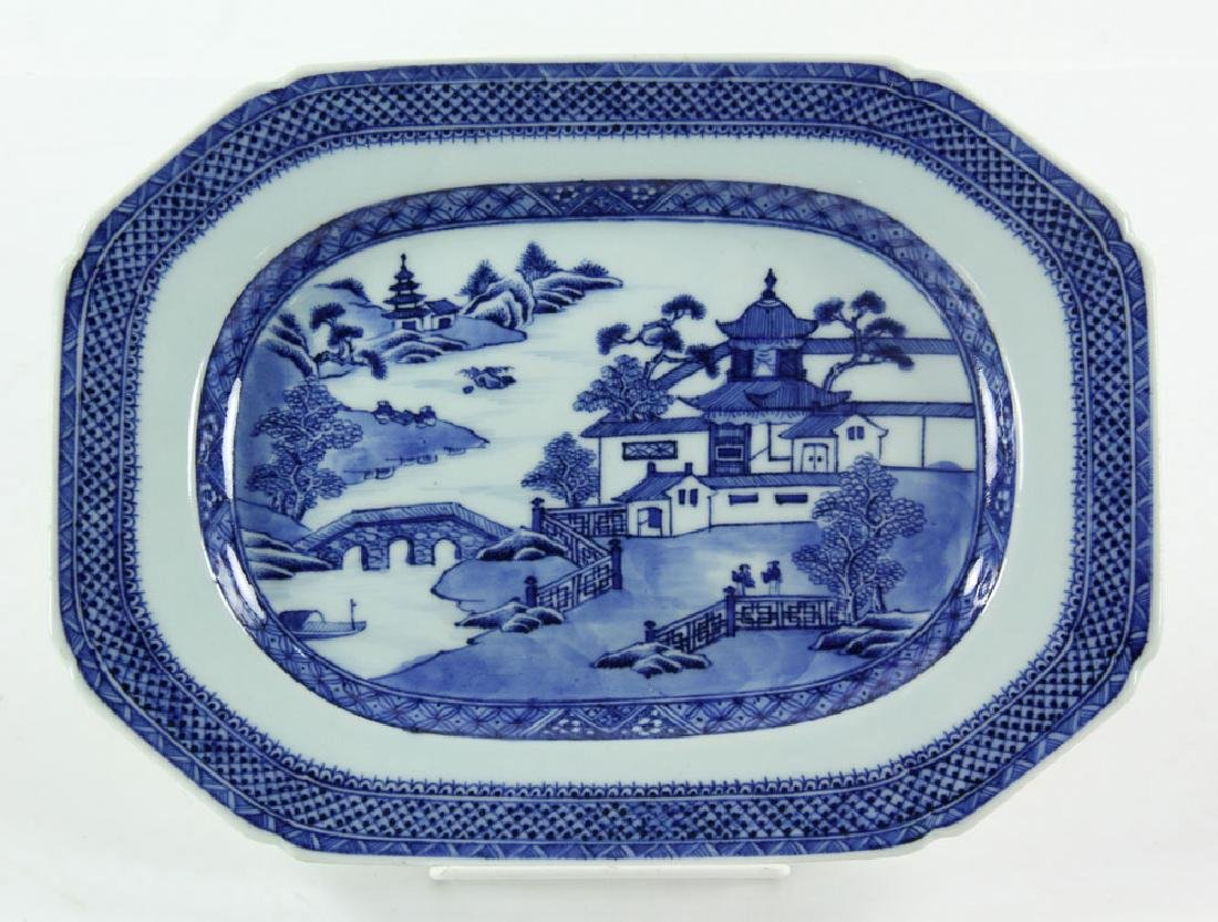 Three 19th C. Chinese Canton Porcelain Items - 2