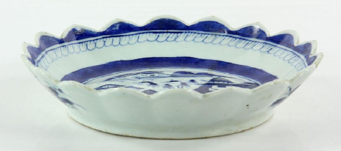 Three 19th C. Chinese Canton Porcelain Items - 6