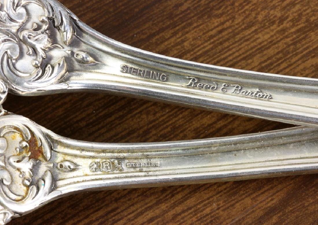 Reed & Barton Sterling Flatware, Service for 12 - 10