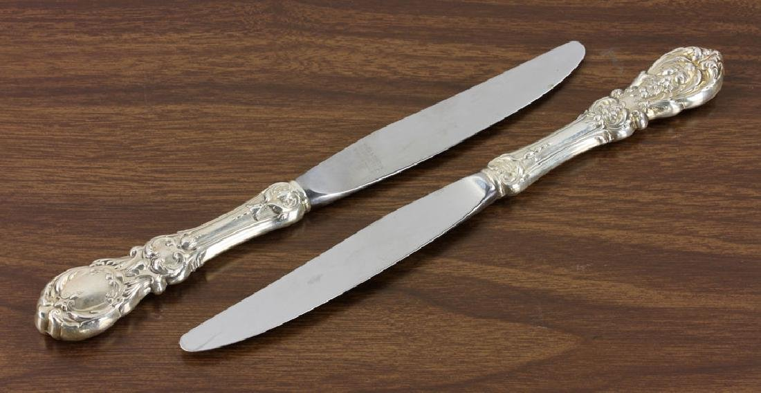 Reed & Barton Sterling Flatware, Service for 12 - 9