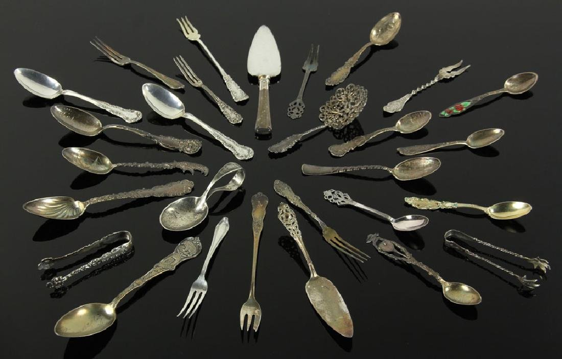 Lot of Assorted Sterling Silver Flatware