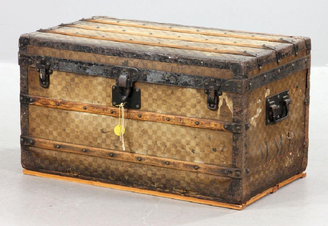 Louis Vuitton Damier Canvas Steamer Trunk